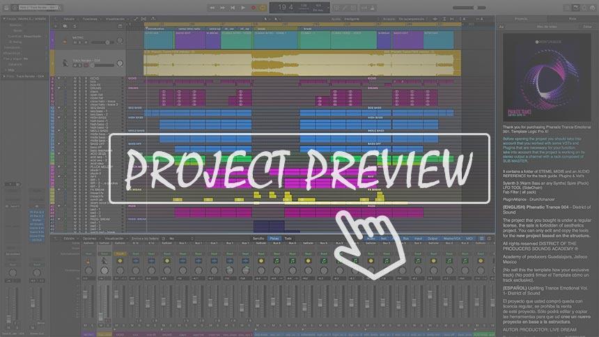 Phanatic Trance Logic Pro Template Vol. 4