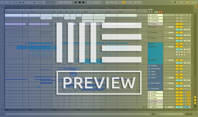 High Frequencies - Pendulum - Progressive Trance Ableton 10 Template