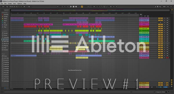 Ableton Live 10 Screenshot Info Preview #1