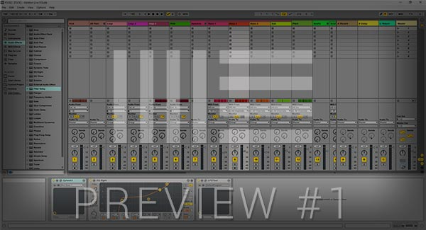 Ableton Live Template Preview Screenshot #1