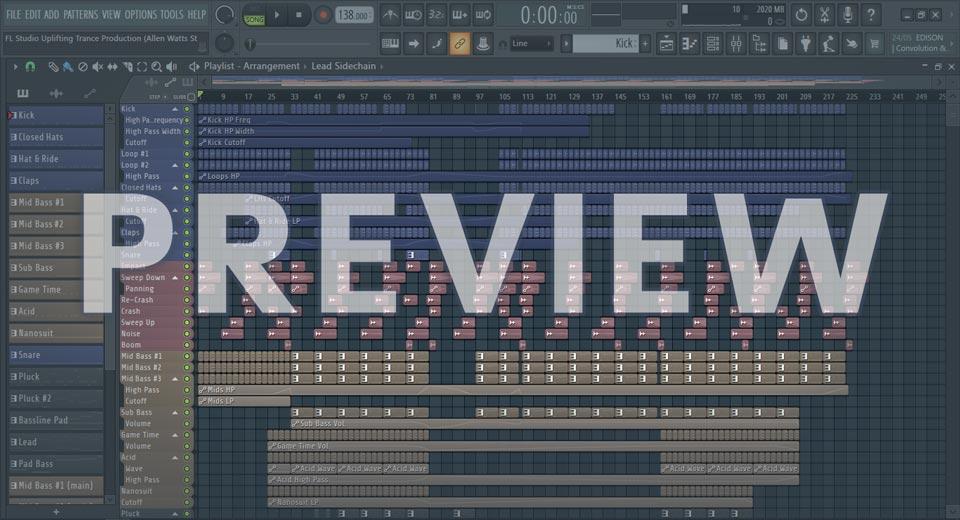 FL Studio Uplifting Trance Production (Allen Watts Style)