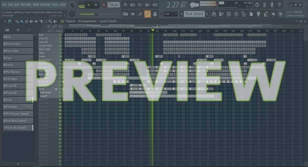FL Studio Uplifting Trance Production (Allen & Envy Style)