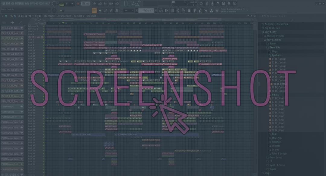 Project template screenshot