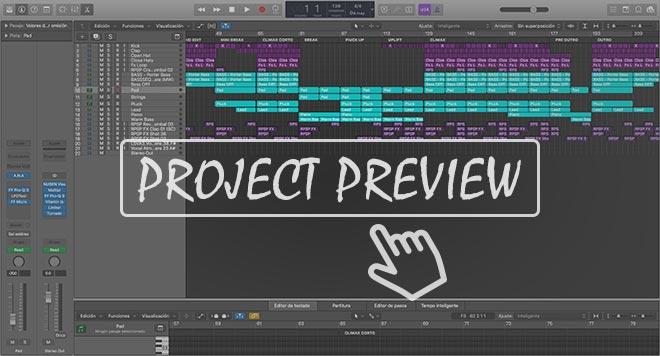 Uplifting Trance Emotional - Logic Pro X Template