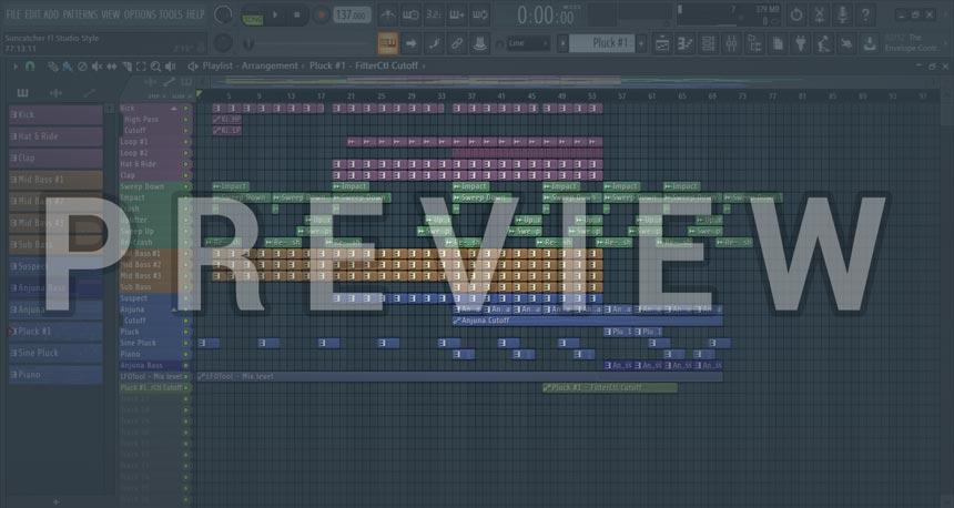 Screenshot image for Suncatcher Style FL Studio Project (Always Alive Style)