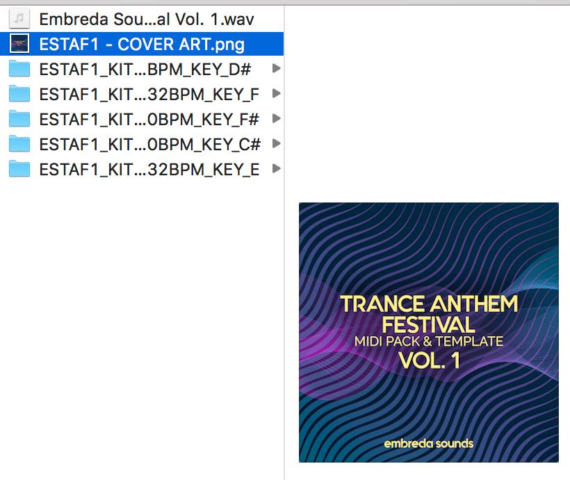 Embreda Sounds - Trance Anthem Festival Vol. 1