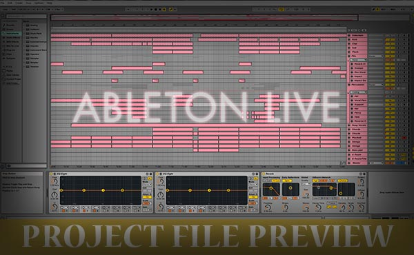 Ableton Live Project File Preview
