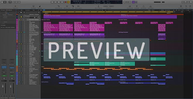 138 BPM Trance - Logic Pro X Template