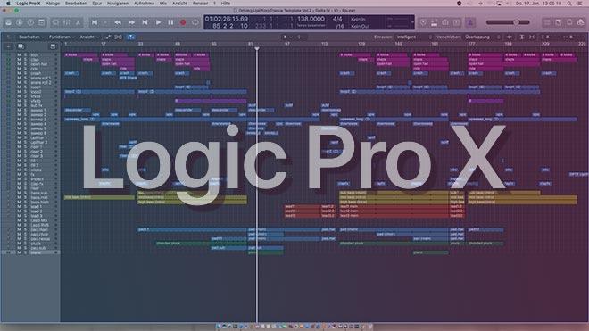 Driving Uplifting Trance Logic Pro X Template Vol. 2