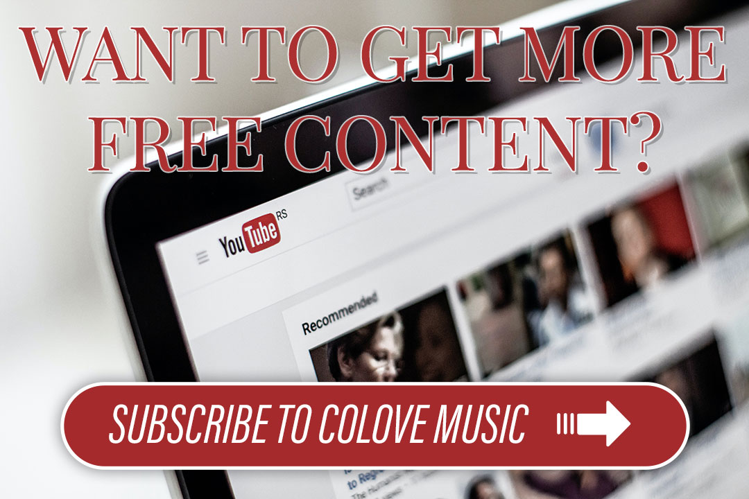 GET MORE FREE CONTENT FROM COLOVE MUSIC
