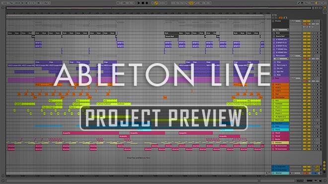 Save Me - Uplifting Trance Ableton Template (James Dymond style)