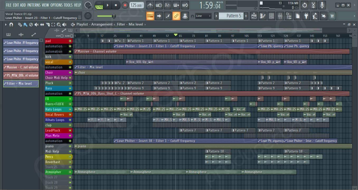 FL Studio Vocal Trance Vol. 1
