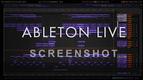 Ableton Live Template