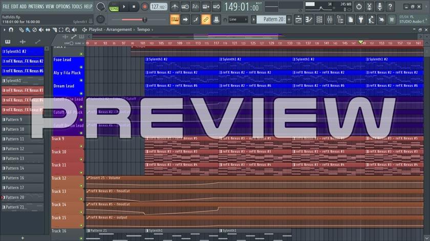 Apprehension Remake - FL Studio Uplifting Trance Template