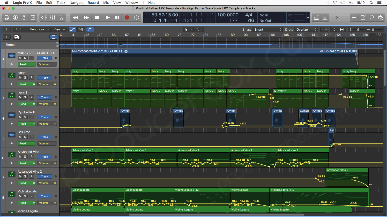 Logic Pro Arrangement Preview #2