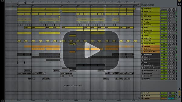 Progressive Trance Ableton Project Vol. 2 (Cosmic Gate Style)