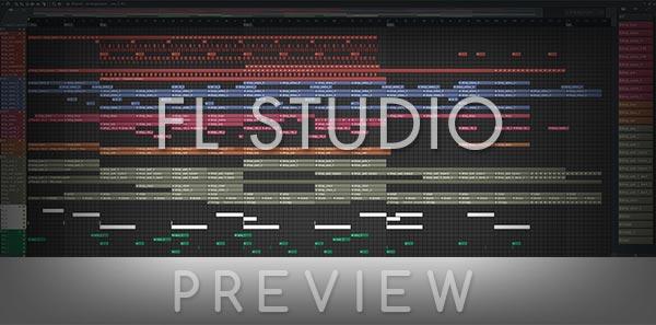 FL Studio Template Screen