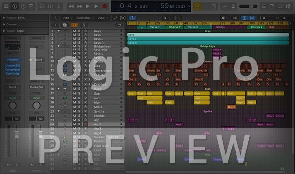 Logic Pro Project File Preview