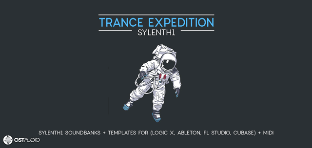 Trance Expedition - Sylenth1 & Logic Pro X Template