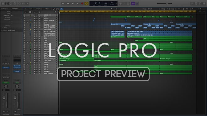 Great Ideas Series Vol. 2 - Uplifting Trance Template For Logic Pro