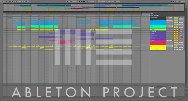 Ableton Live Template Project Preview