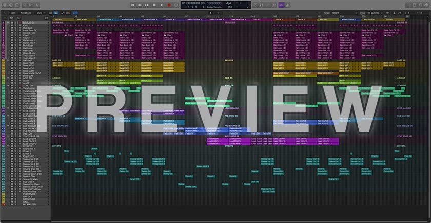 Uplifting Trance Logic Pro X Template Vol. 1