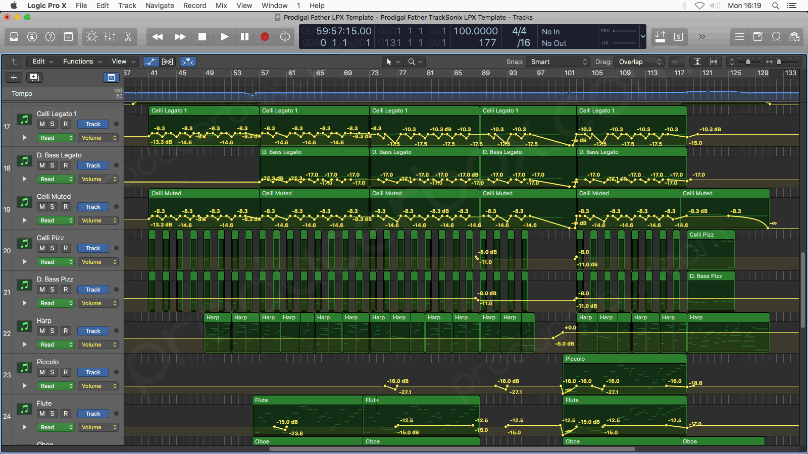 Logic Pro Arrangement Preview #1