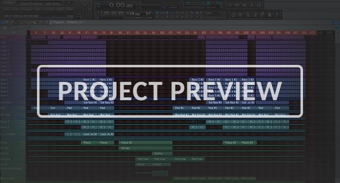 FL Studio Uplifting Trance Template Vol. 1 (Abora, BTSR Style)